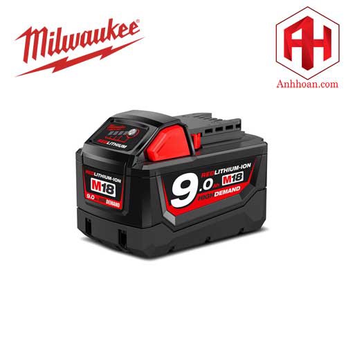 Milwaukee Pin Li-Ion M18B9 RedLithium (18V:9Ah)