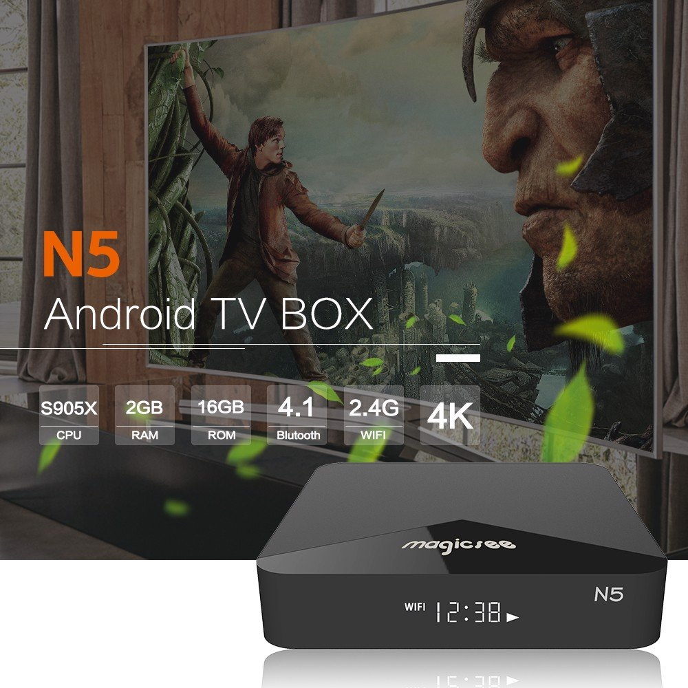 TV Box Magicsee N5 RAM 2G