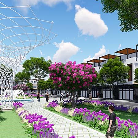 công viên trung tâm đô thị