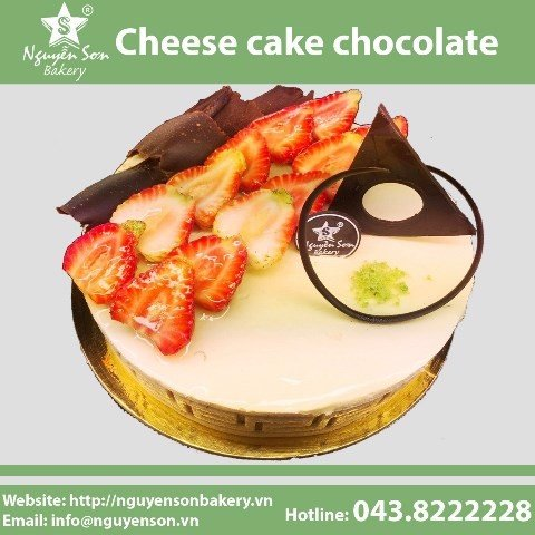 Cheese cake chocolate