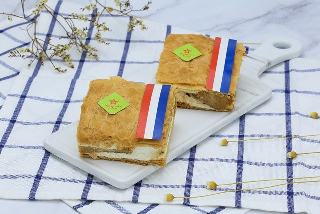 Millefeuille táo