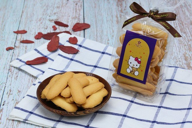 Langue de chat cookies
