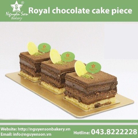 Royal Chocolate Cake Piece