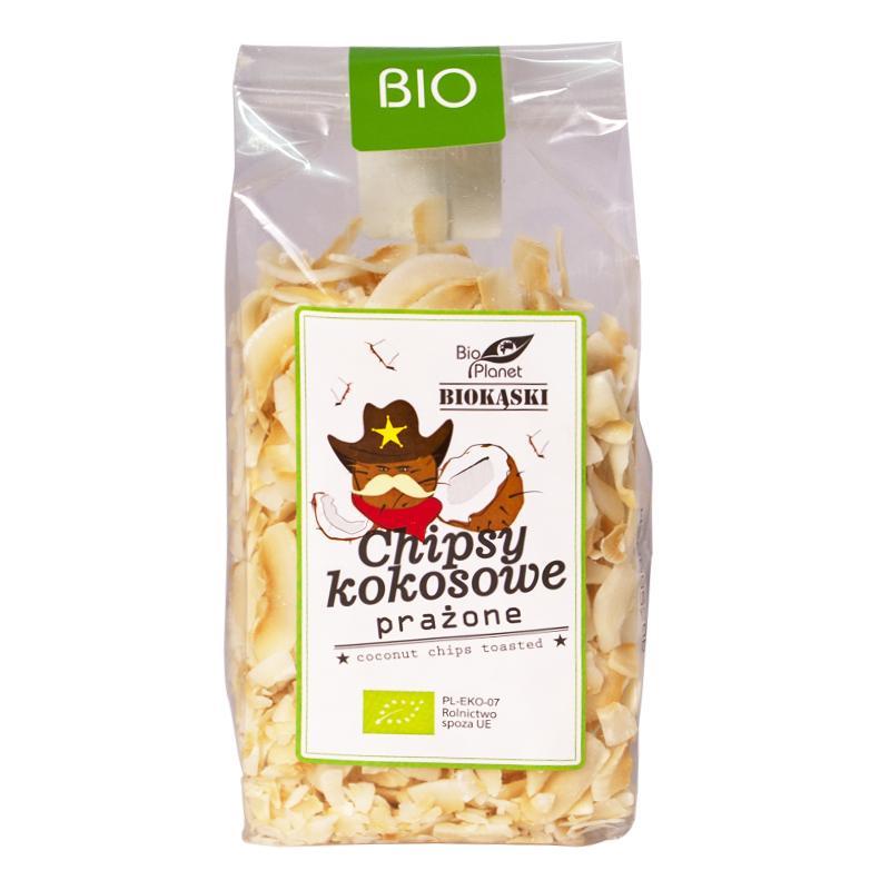 Dừa sấy giòn hữu cơ Bio Planet 150g