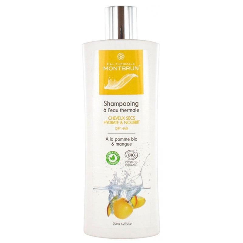 Dầu gội hữu cơ không sulfate dành cho tóc khô hương táo, xoài Montbrun 250ml
