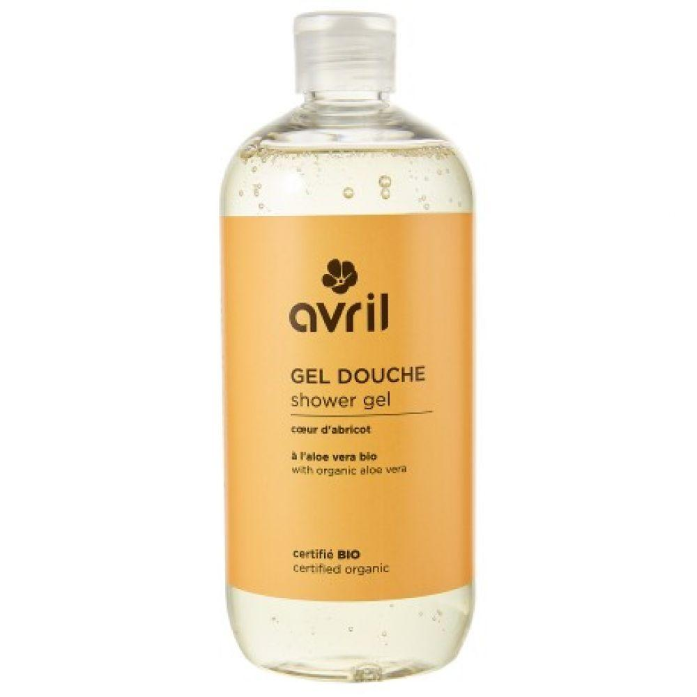 Sữa tắm hữu cơ mơ và hạnh nhân Avril 500ml