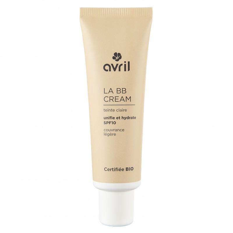 BB cream hữu cơ chống nắng Spf10 Avril màu claire 30ml