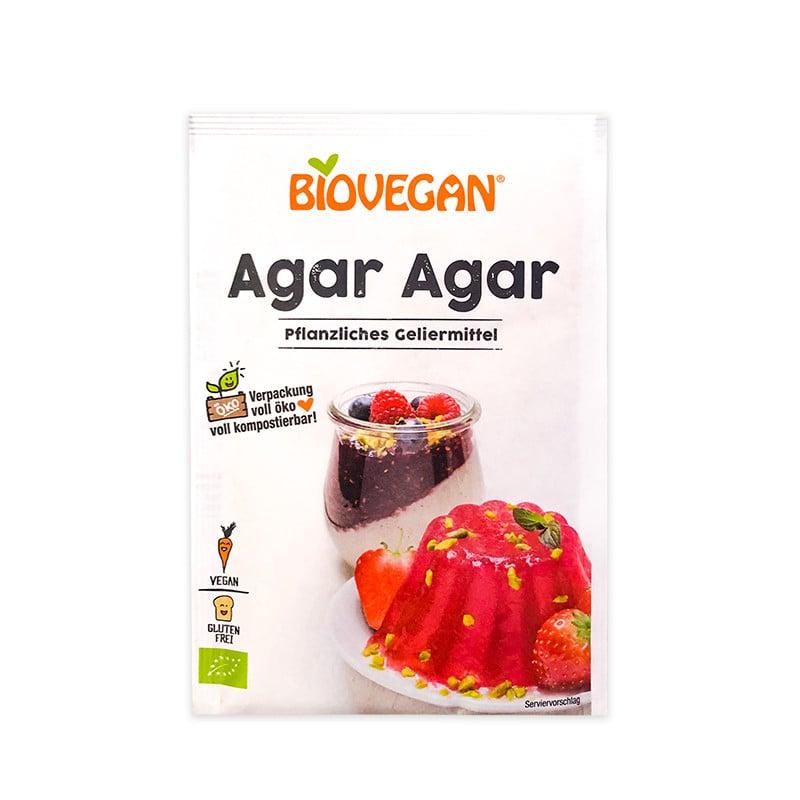 Bột rau câu hữu cơ Agar Agar Biovegan 30g