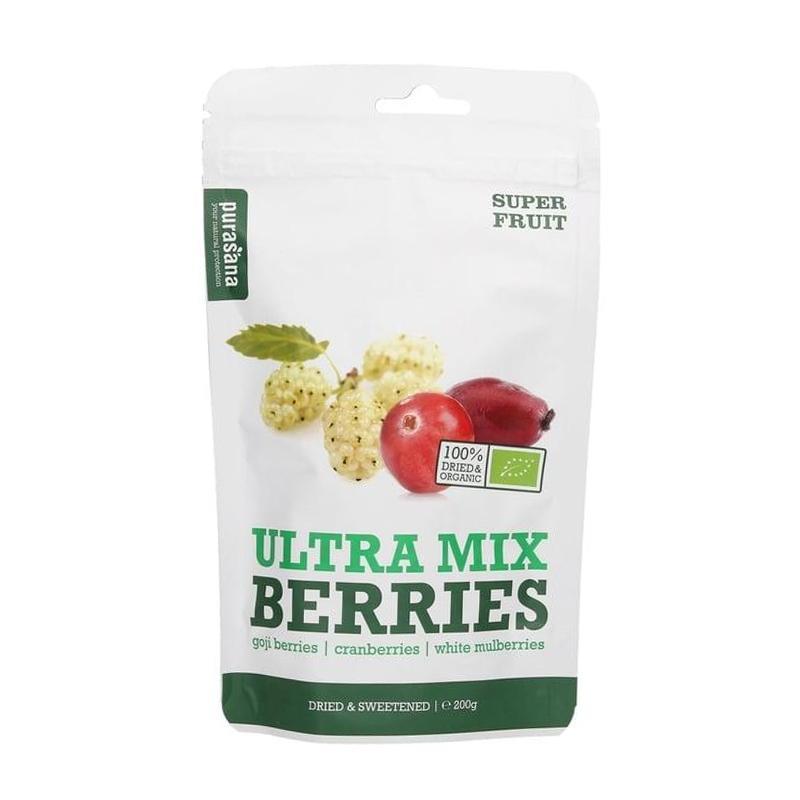 Hỗn hợp Ultramix Berries hữu cơ Purasana 200g