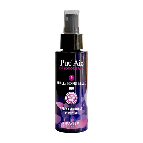 Tinh dầu hữu cơ khử mùi không khí dạng xịt Pur' Air Gravier 100ml