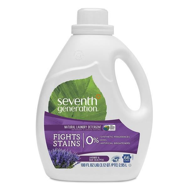 Nước giặt 2X khuynh điệp oải hương seventh generation 2.95L