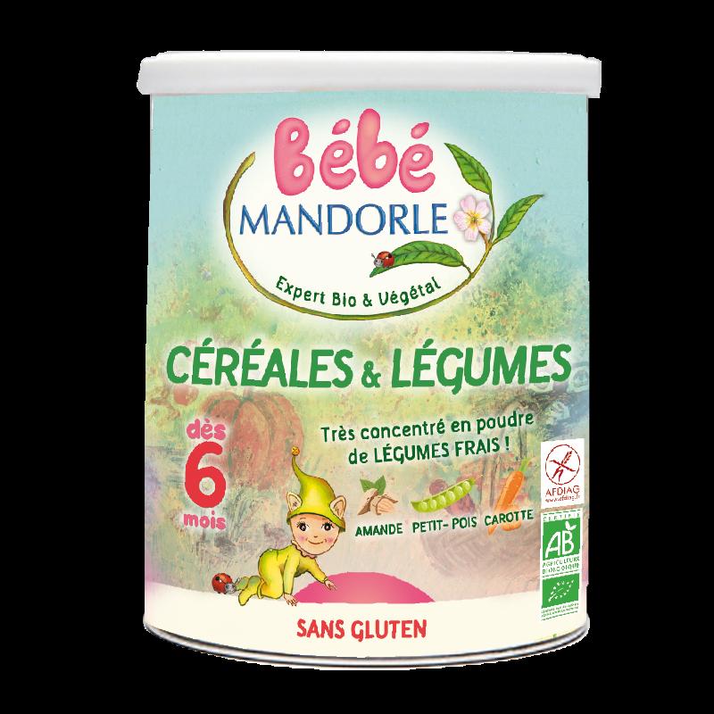 Ngũ cốc rau củ cho bé từ 6 tháng La Mandorle 400g