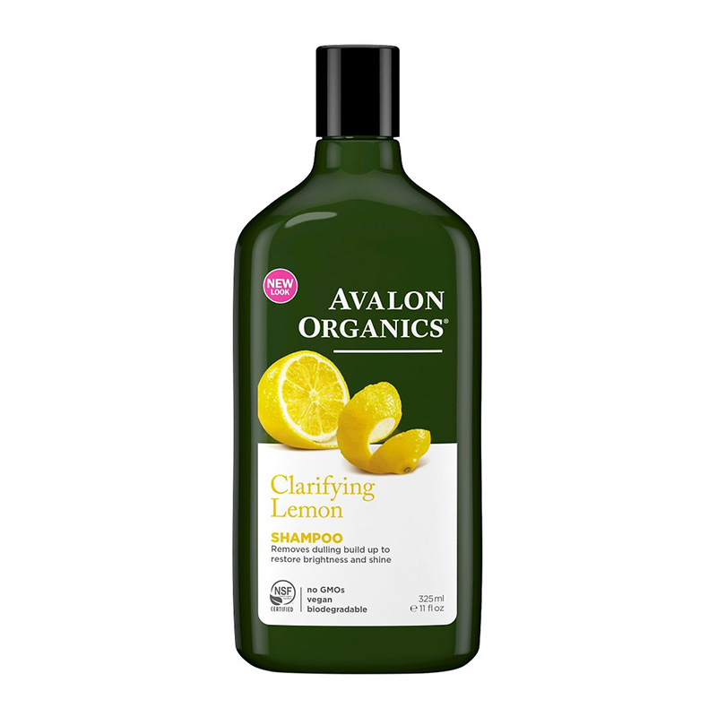 Dầu gội hữu cơ hương chanh Avalon Organics 325ml