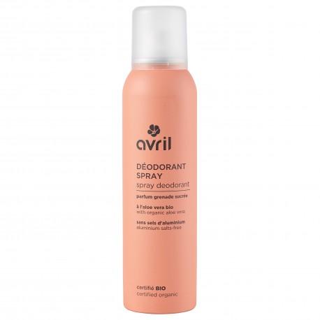Xịt khử mùi hữu cơ Avril 150ml