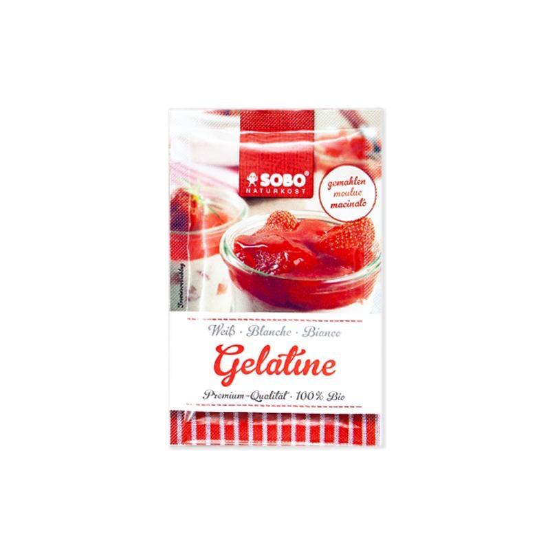 Bột Gelatine hữu cơ Sobo 9g