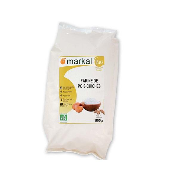 Bột đậu gà hữu cơ Markal 500g