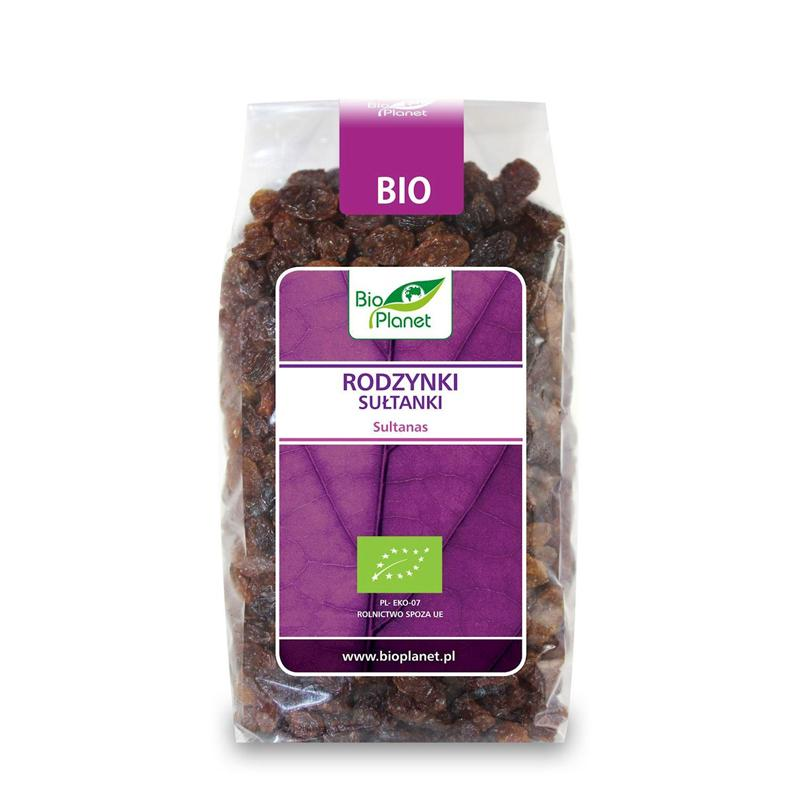 Nho khô hữu cơ Sultana Bio Planet 400g