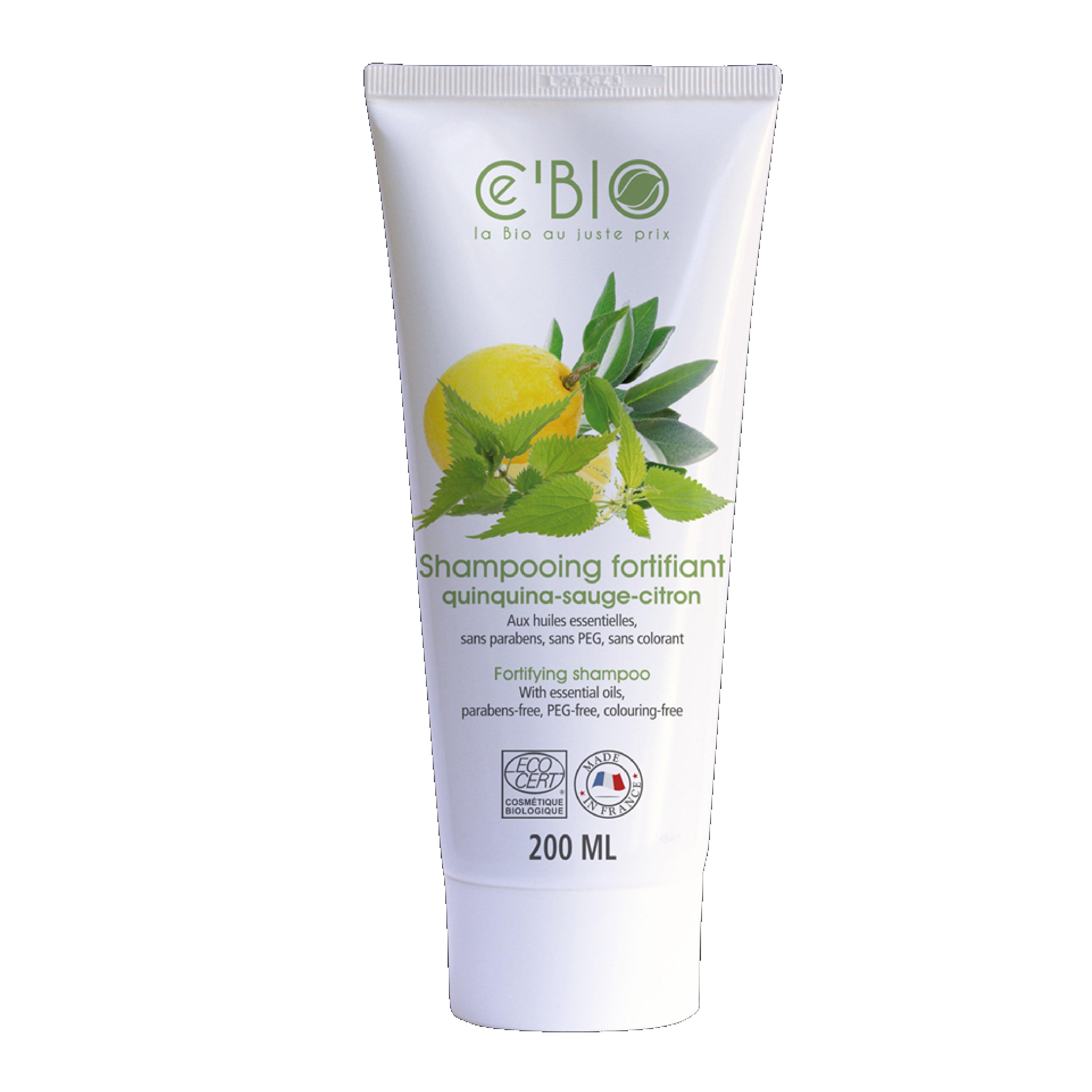 Dầu gội hữu cơ Gravier Cé Bio dành cho tóc gãy rụng 200ml
