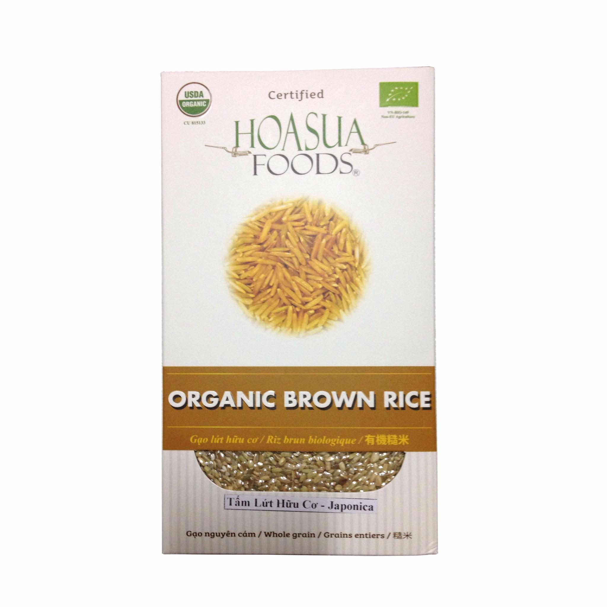 Gạo tấm lứt hữu cơ Hoa Sữa (Japonica)