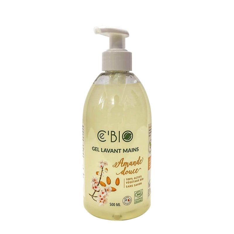 Gel rửa tay hữu cơ chiết xuất hạnh nhân Gravier Cé Bio 500ml
