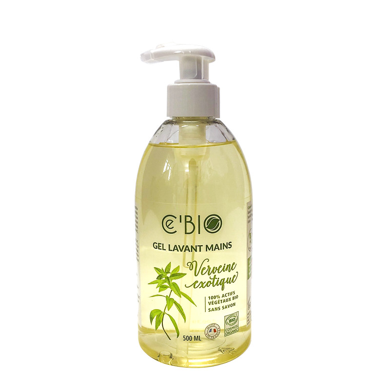 Gel rửa tay hữu cơ hương cỏ roi ngựa Gravier Cé Bio 500ml
