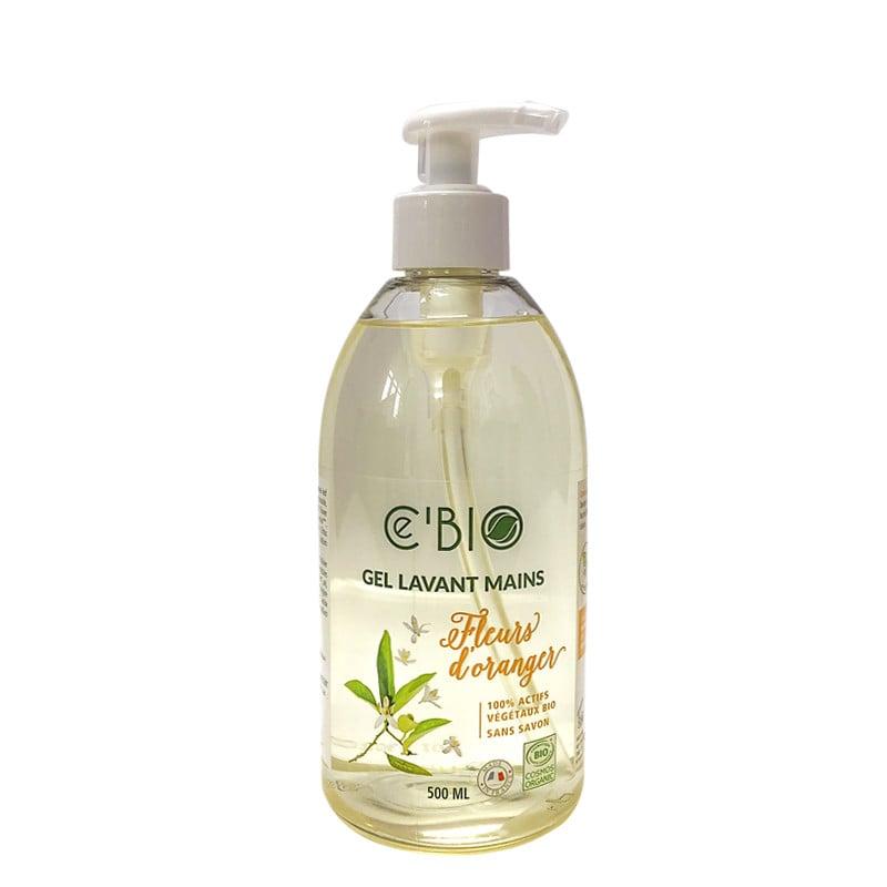 Gel rửa tay hữu cơ hương hoa cam Gravier Cé Bio 500ml