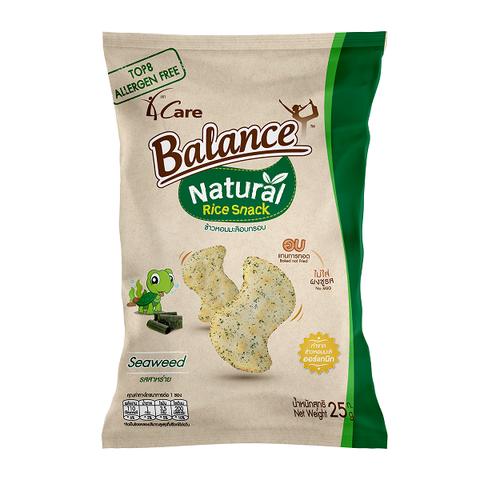 Bánh snack gạo vị rong biển 4Care Balance 25g