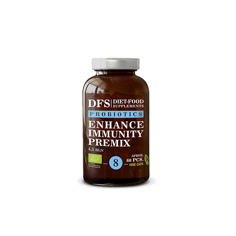 Hỗn hợp tăng cường miễn dịch Premix hộp 60 viên vỏ nang