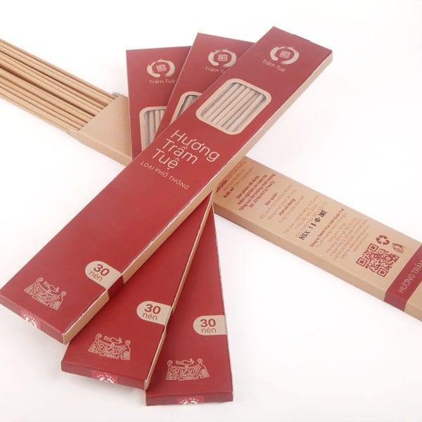 Hương Trầm Tuệ phổ thông dài 38cm – 30 nén