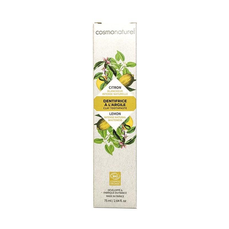 Kem đánh răng hữu cơ Gravier hương chanh 75ml (trắng răng)