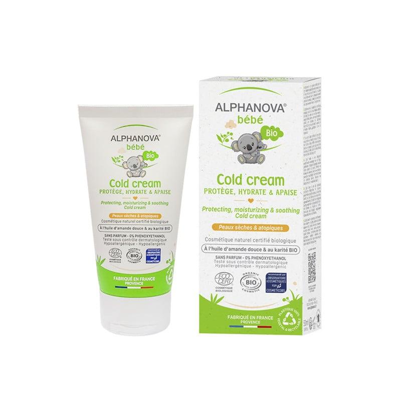 Kem dưỡng da hữu cơ cho bé Alphanova Bebe Cold Cream 50ml