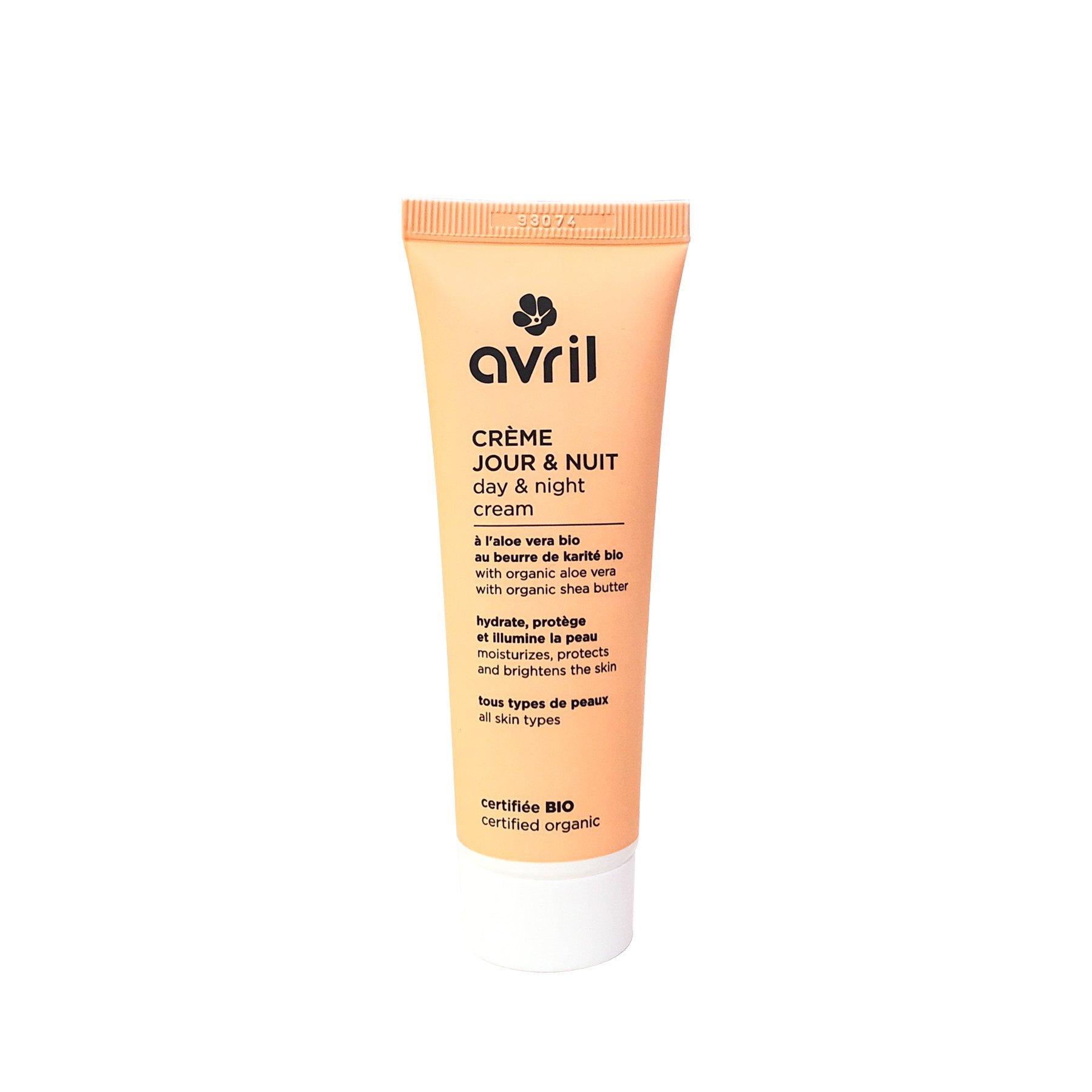 Kem dưỡng da hữu cơ ngày và đêm Avril 50ml