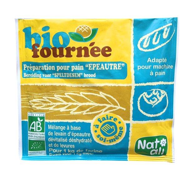 Men tự nhiên từ lúa mì cổ spelt mix men nở hữu cơ Natali 35g
