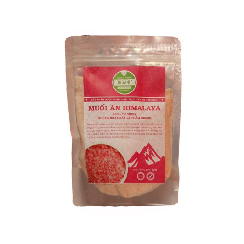 Muối hồng Himalaya hạt nhuyễn (0.6mm) TBT Organic Food 500g (Gói)