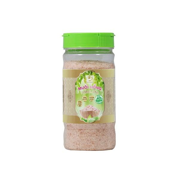 Muối hồng Himalaya hạt nhuyễn Aurosalt 250g (hũ)