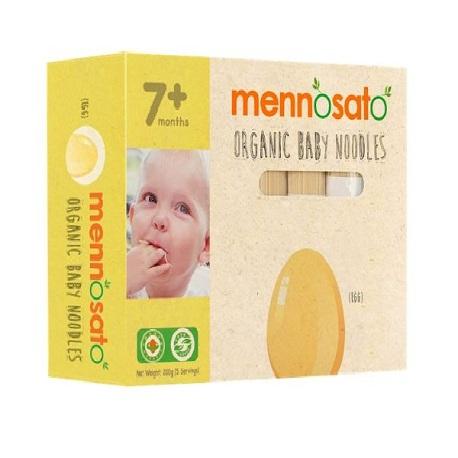 Mỳ hữu cơ cho bé vị trứng Men No Sato 200g