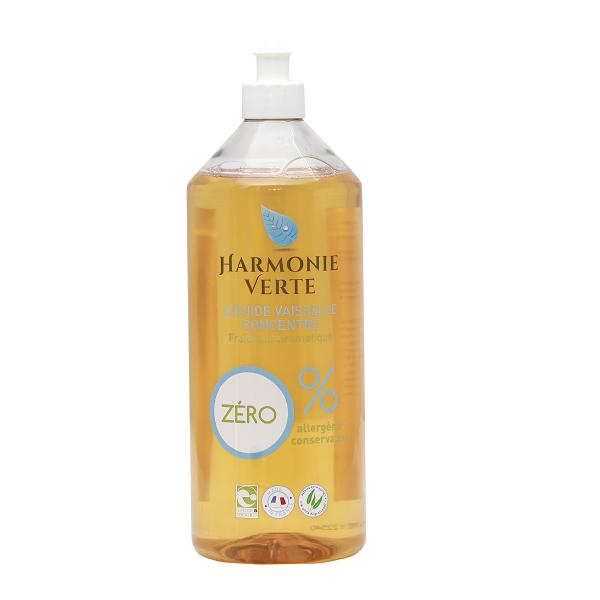 Nước rửa bát hữu cơ khuynh diệp oải hương Harmonie Verte 1L