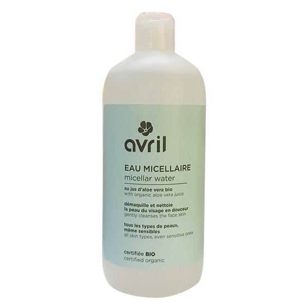 Nước tẩy trang hữu cơ Eau micellaire Avril 500ml