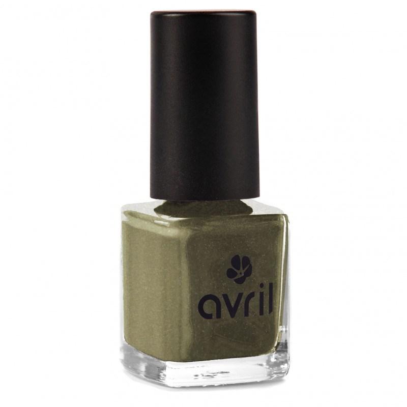 Sơn móng Avril màu thép ánh xà cừ Acier Nacré n°102 - 7ml