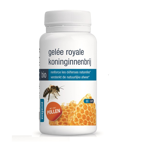 Sữa ong chúa hữu cơ Purasana hộp 80 viên