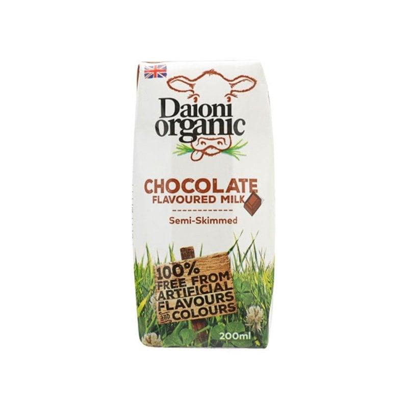 Sữa tươi hữu cơ vị socola Daioni 200ml