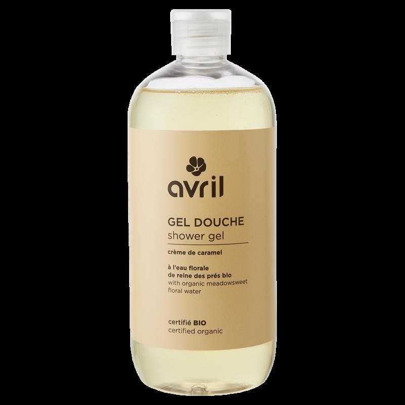Sữa tắm hữu cơ hương caramen Avril 500ml