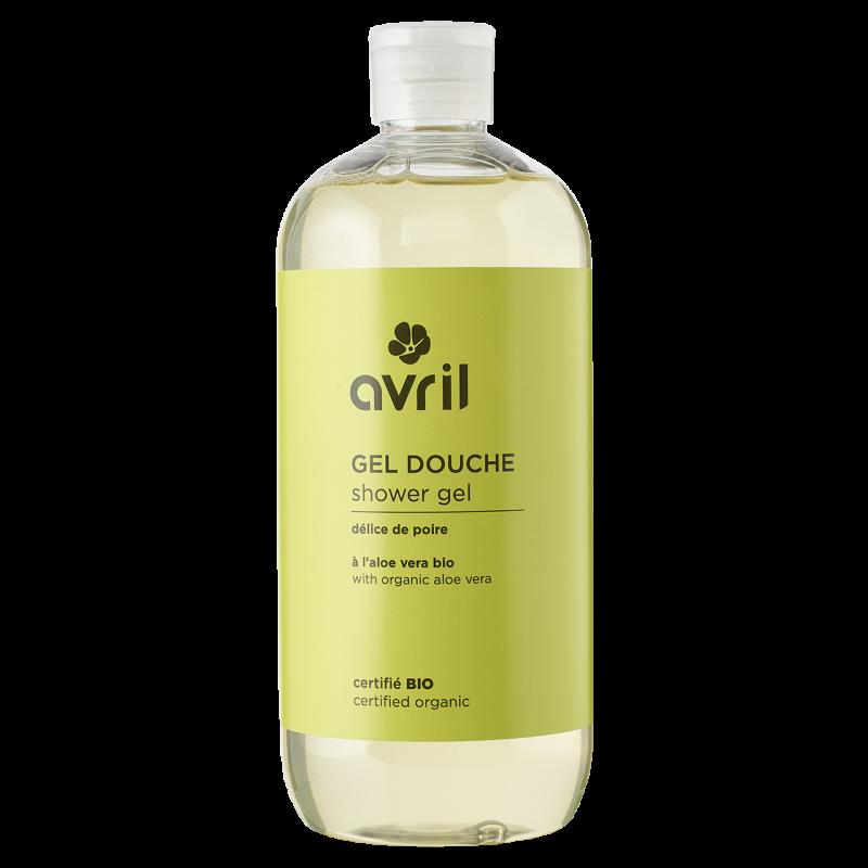 Sữa tắm hữu cơ hương trái lê Avril 500ml