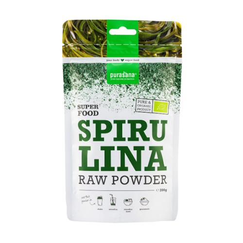 Bột tảo xoắn Spirulina hữu cơ Purasana 200g