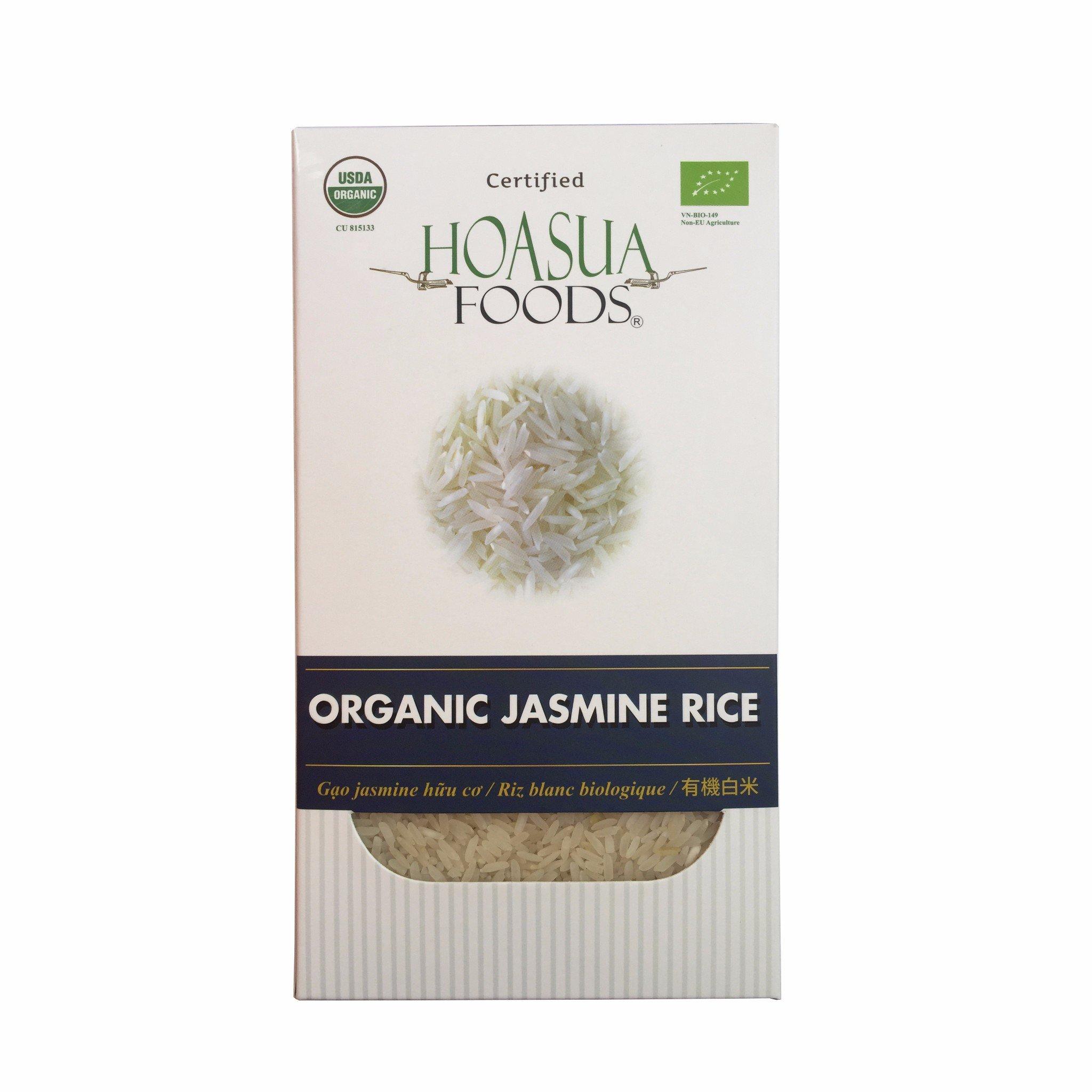 Gạo trắng hữu cơ Hoa Sữa (Jasmine) 1kg
