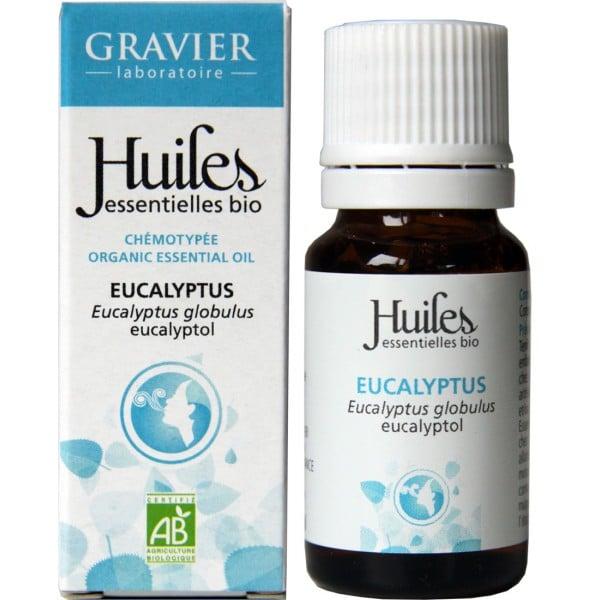 Tinh dầu khuynh diệp hữu cơ Eucalyptus Globulus Gravier 10ml