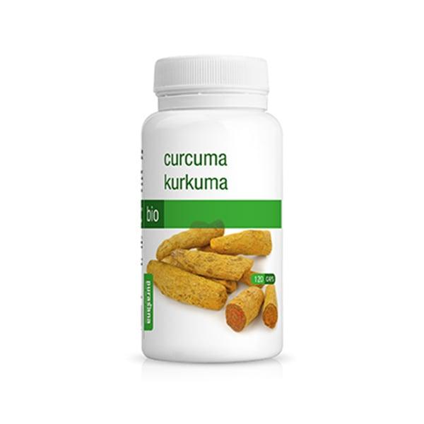Viên uống nghệ hữu cơ Curcuma Purasana hộp 120 viên