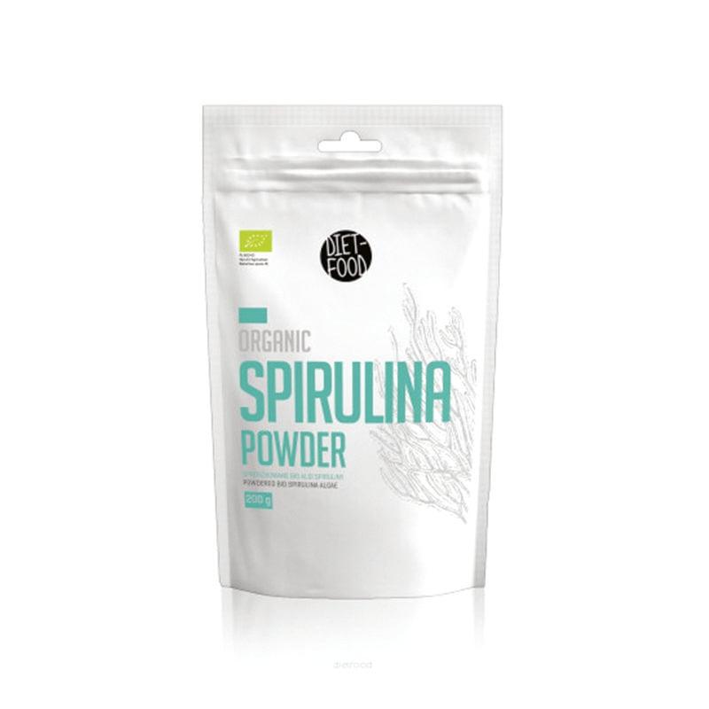 Bột tảo xoắn Spirulina hữu cơ Diet Food 200g
