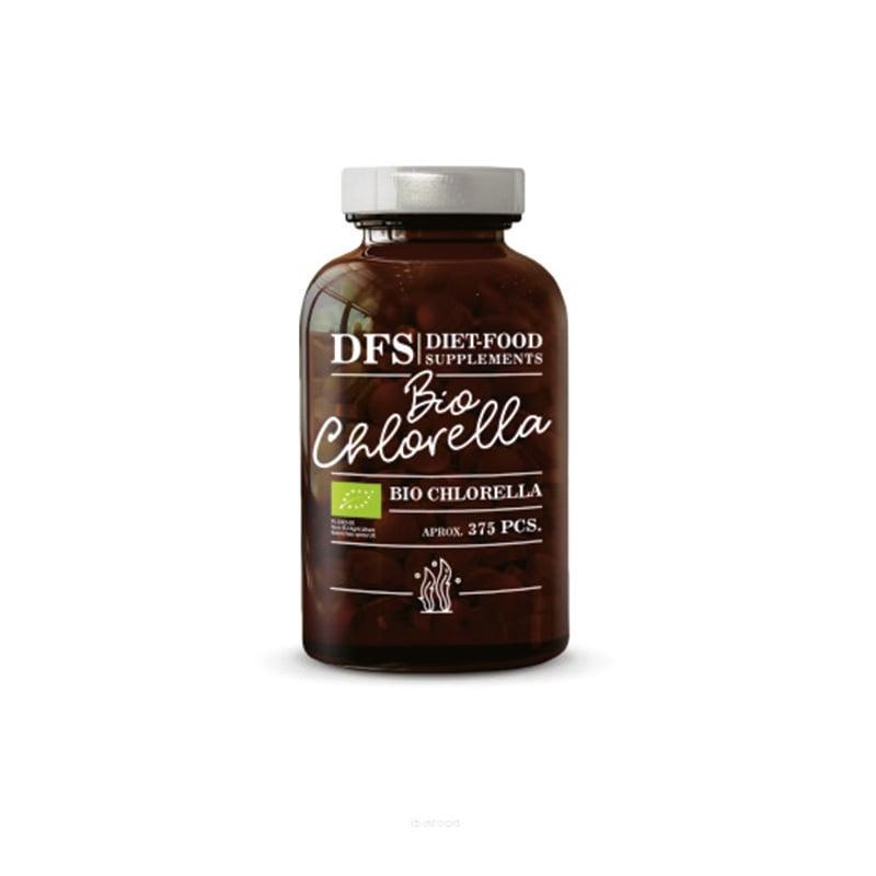 Tảo lục Chlorella hữu cơ Diet Food hộp 375 viên