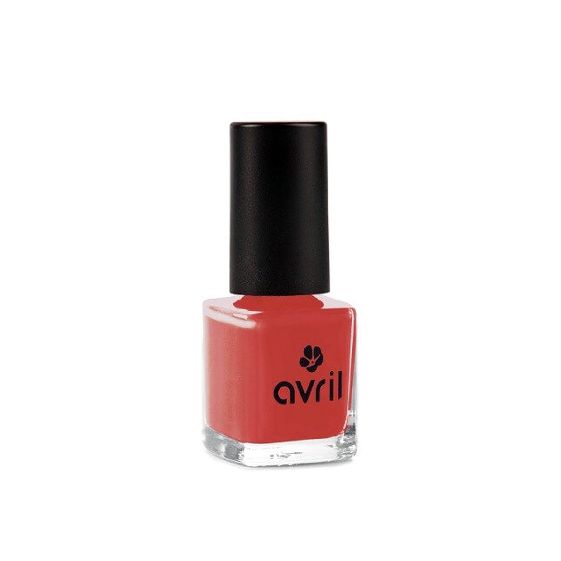 Sơn móng Avril màu đỏ cổ điển Rouge Rétro 7ml